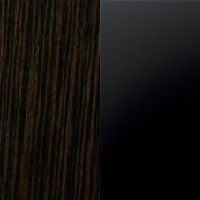 венге магія/чорний глянець