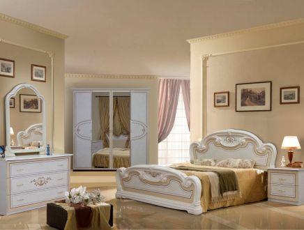 Мартіна Спальня з шафою 4 дв. Радіка беж Міромарк
