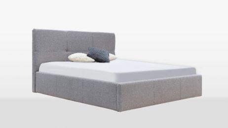 Лілу Ліжко 180 м'яка спинка з підйомником Міромарк