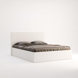 Фэмили Кровать 160 подъемная белый глянец Миромарк