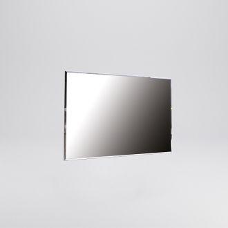 Фэмили Зеркало 100х80 белый глянец Миромарк