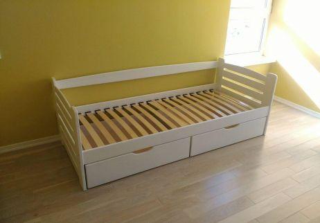 Карлсон Кровать 80х190 белый