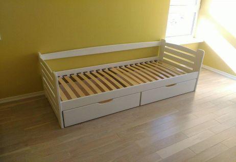 Карлсон Кровать 90х200 белый