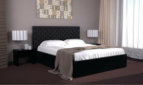Кровать Богера 1 (квадраты) 160х200 (с ламелью и подъемным механизмом) Гербор