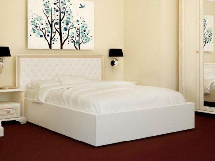 Кровать Богера 4 (квадраты) 160х200 (с ламелью и подъемным механизмом) Гербор