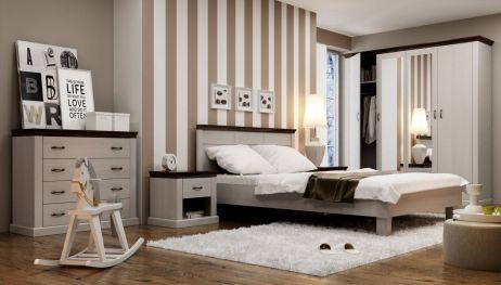 Лавенда Комплект спальні дуб шоколадний/сосна норвежська ВМВ Холдинг