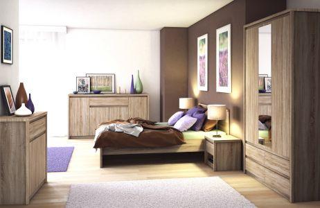 Нортон Комплект спальні дуб сонома ВМВ Холдинг