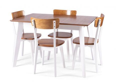 Стол Милан 120х80+40 + стул Тор