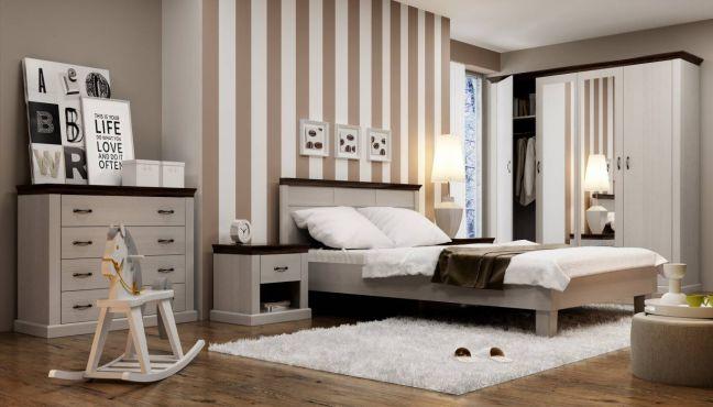 Лавенда Комплект спальни шоколадный/сосна норвежская ВМВ Холдинг