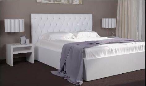 Кровать Богера 2 (ромбы) 160х200 (с ламелью и подъемным механизмом) Гербор