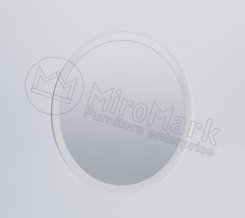 Фэмили Зеркало 80х80 белый глянец Миромарк