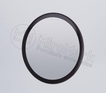 Фэмили Зеркало 80х80 черный глянец Миромарк