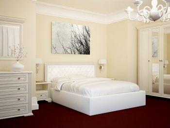 Ліжко Богера 3 (ромби) 160х200 (з ламеллю та підйомним механізмом) Гербор