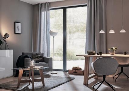 Сірий колір в оформленні житла