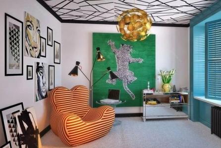 Дизайн онтоарт в жилых помещениях
