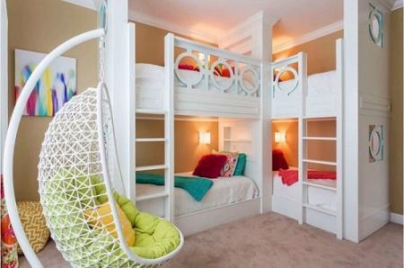 Варіанти двоярусних ліжок